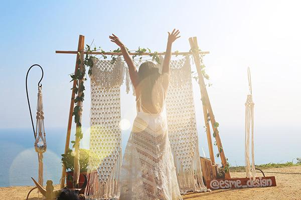 7 ý tưởng đơn giản nhưng lạ cho backdrop cưới đẹp 7