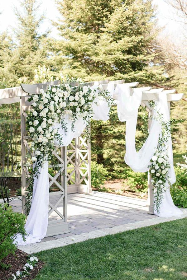 các mẫu cổng hoa đám cưới đẹp dành cho bạn 3