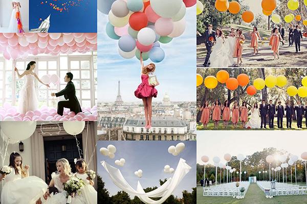 mẹo trang trí backdrop bong bóng đẹp nhất cho đám cưới 4