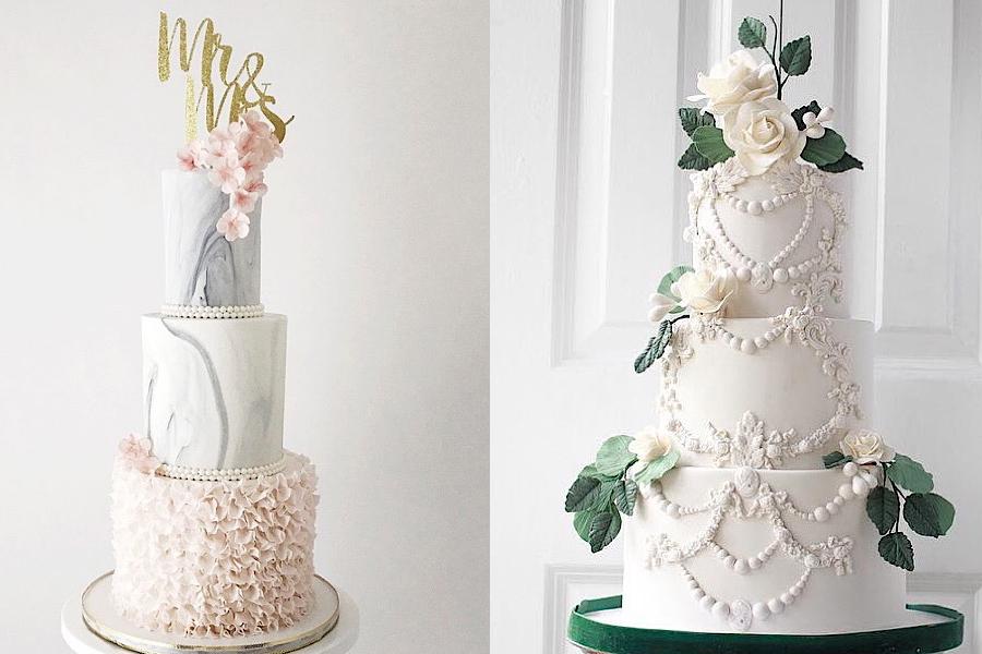 4 mẫu bánh kem đám cưới được yêu thích nhất hiện nay 4