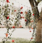 tự tay làm background hoa tươi cho ngày cưới 5